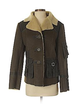 Tasha Polizzi Collection Faux Leather Jacket Size M