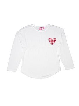 J. Khaki Long Sleeve T-Shirt Size L (Youth)