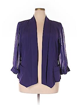 City Chic 3/4 Sleeve Blouse Size 22 Plus (L) (Plus)