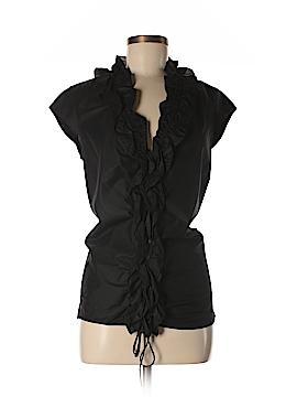 DKNY Short Sleeve Button-Down Shirt Size 8