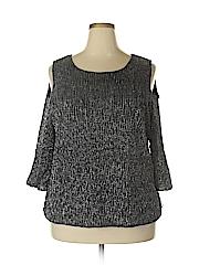 Alfani Women 3/4 Sleeve Blouse Size 3X (Plus)