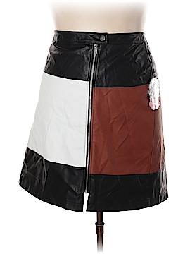 INC International Concepts Faux Leather Skirt Size 22 (Plus)