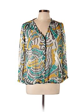 Cynthia Steffe Long Sleeve Blouse Size L