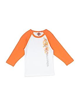 Harley Davidson Long Sleeve T-Shirt Size 2/4