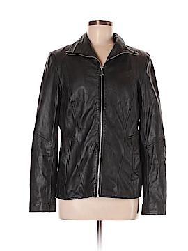 Marc New York Leather Jacket Size M