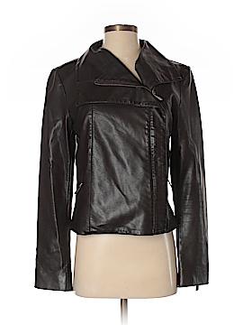 Ann Taylor Faux Leather Jacket Size S