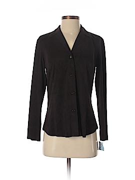Max Studio Long Sleeve Button-Down Shirt Size S (Petite)