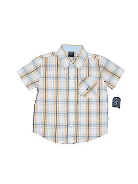 Nautica Short Sleeve Button-Down Shirt Size 2T