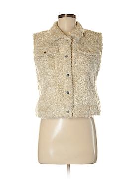 Gap Faux Fur Vest Size M