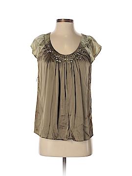 Mac & Jac Short Sleeve Silk Top Size 2