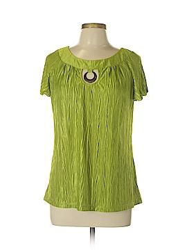 B-Design Short Sleeve Blouse Size M