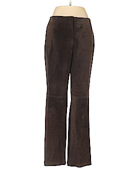 Apostrophe Leather Pants Size 8 (Petite)