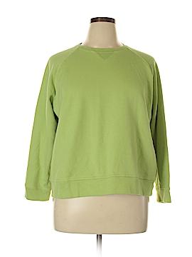 Kim Rogers Sweatshirt Size 1X (Plus)