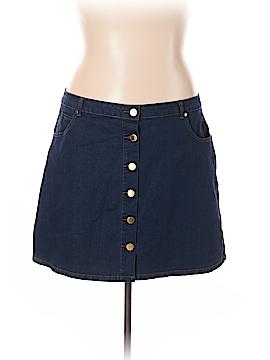 City Chic Denim Skirt Size 24 (Plus)