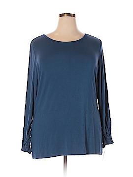 Alfani Long Sleeve Top Size 3X (Plus)
