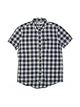Abercrombie Short Sleeve Button-Down Shirt Size 16