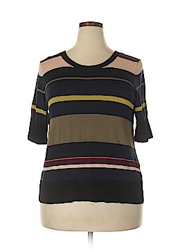 RACHEL Rachel Roy Short Sleeve Top Size 0X (Plus)