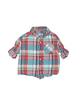 Cherokee Long Sleeve Button-Down Shirt Size 12 mo