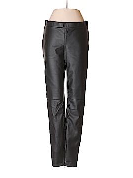 Armani Exchange Faux Leather Pants Size S