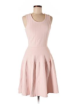 Pink Tartan Casual Dress Size M