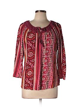 Lucky Brand 3/4 Sleeve Top Size XL