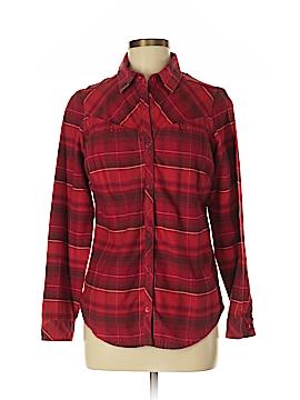 Columbia Long Sleeve Button-Down Shirt Size M