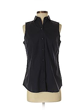 Lands' End Sleeveless Button-Down Shirt Size 8