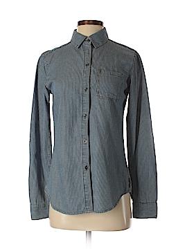 Seven7 Long Sleeve Button-Down Shirt Size XS
