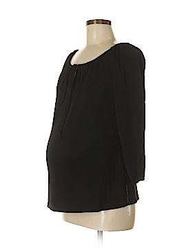 Liz Lange Maternity 3/4 Sleeve Top Size 2 (Maternity)