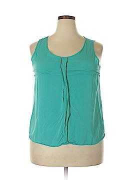 Market and Spruce Sleeveless Blouse Size XL