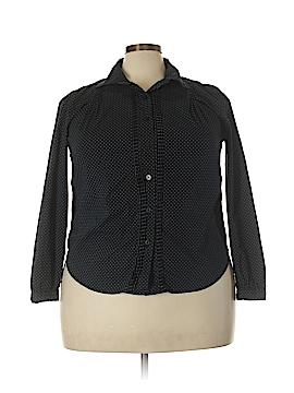 Talbots Long Sleeve Button-Down Shirt Size 2X (Plus)