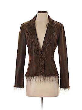 Joseph Ribkoff Faux Leather Jacket Size 4