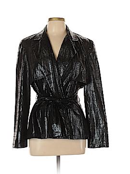Joseph Ribkoff Faux Leather Jacket Size 12