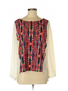 Glam Long Sleeve Blouse Size M