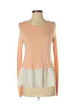 Hinge Long Sleeve Blouse Size M