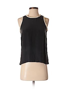 Nili Lotan Sleeveless Silk Top Size S