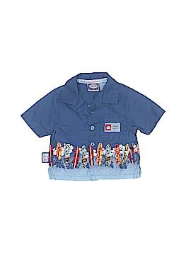 Koala Kids Short Sleeve Button-Down Shirt Size 0-3 mo