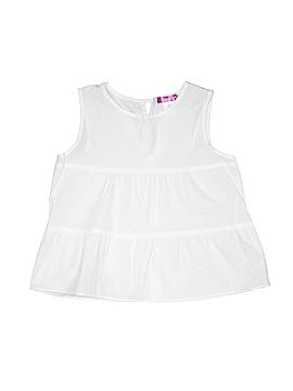 Aqua Sleeveless Blouse Size X-Large (Youth)