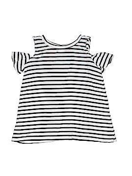 Aqua Short Sleeve Top Size X-Large (Youth)