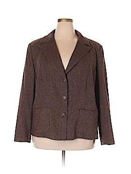 Casual Corner Annex Wool Blazer Size 22 (Plus)