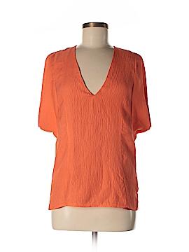 Wren Short Sleeve Silk Top Size M