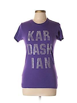 Kardashian Kollection Short Sleeve T-Shirt Size L