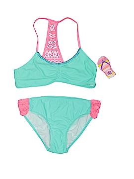 J. Khaki Two Piece Swimsuit Size 16