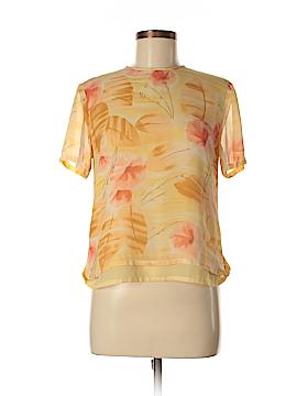 Pendleton Short Sleeve Silk Top Size 6