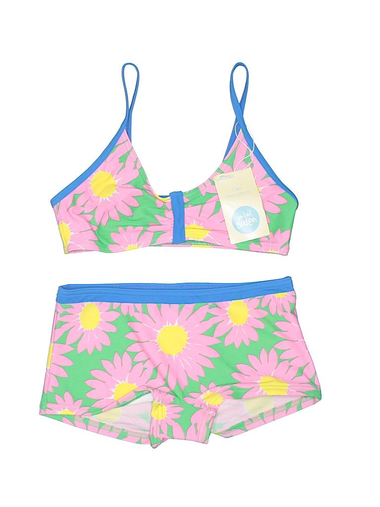 c05df6d0 Mini Boden Floral Light Pink Two Piece Swimsuit Size 11-12 - 57% off ...