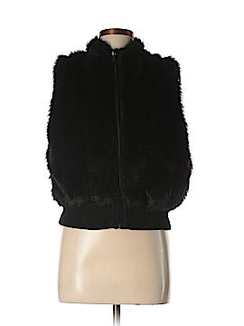 Lisa International Faux Fur Vest Size XL (Petite)