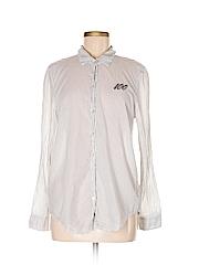 Aerie Women Long Sleeve Button-Down Shirt Size M