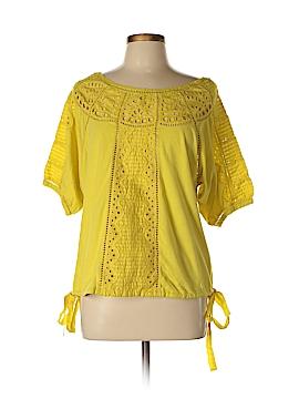 Vanessa Virginia Short Sleeve Blouse Size M