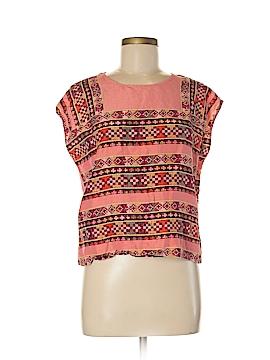 Maje Short Sleeve Blouse Size Med (2)