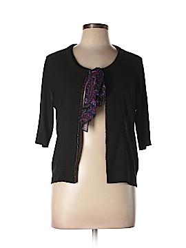 Donna Karan New York Silk Cardigan Size Med - Lg